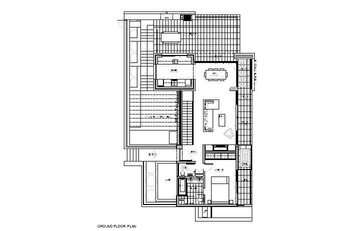 Floor Plan round Floor 3 Bedrooom type Callisto