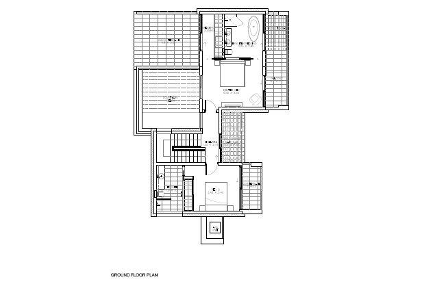 Floor Plan Ground Floor 3 Bedrooom type Cleone